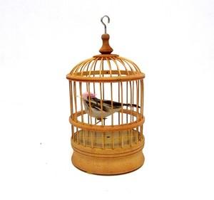 ציפור מצייצת בכלוב