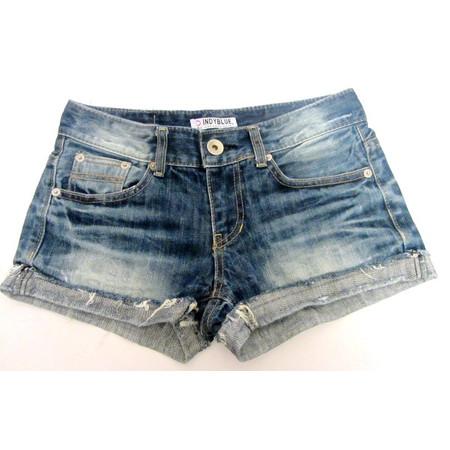 מכנס ג'ינס קצר לאישה למראה קייצי תואם מידה M