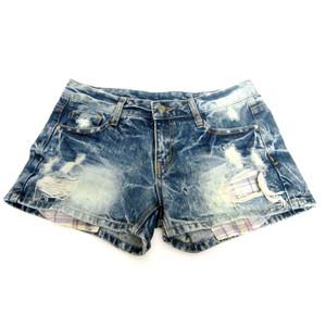 מכנס ג'ינס קצר לאישה לימי הקיץ החמים תואם L-XL