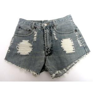 מכנס ג'ינס קצר לנשים מידה L