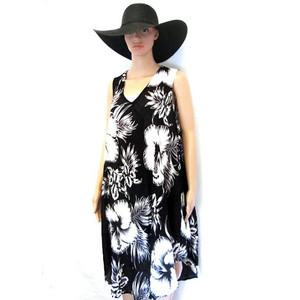 שמלה קייצית איכותית ומנדפת זיעה תואם למידות גדולות XL-XXXL