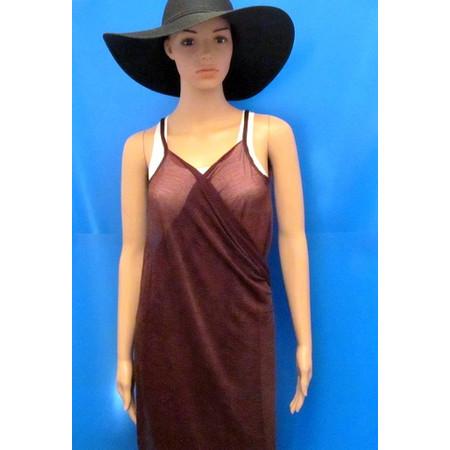 שמלה חשופת גב לחוף הים ולבריכה במבחר צבעים