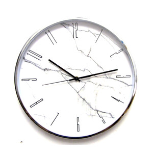 """שעון קיר גדול קוטר 44 ס""""מ ומרשים לבית ולמשרד"""