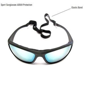 משקפי שמש איכותיות מסננות קרינה 400UV מעוצבות במיוחד לספורט רכיבת אופניים / ריצה / גלישה