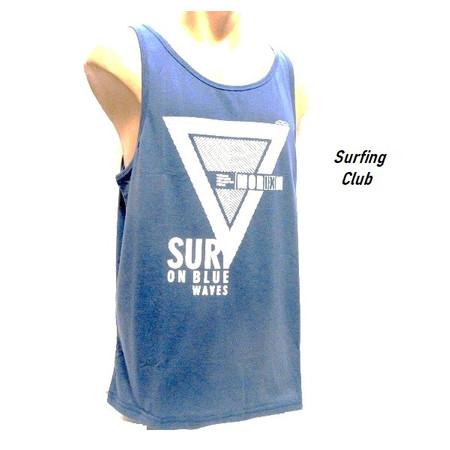 גופיית קייצית לגבר במראה אופנתי Surfing Club במבחר מידות וצבעים