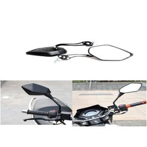 זוג מראות איכותיות ומעוצבות לאופנוע / אופניים חשמליים זרועות מתכוונות