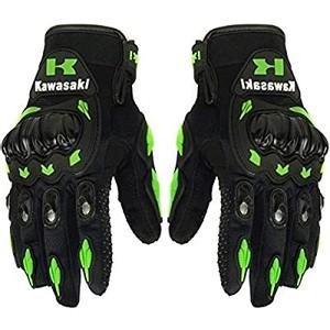 זוג כפפות מקצועיות לרוכבי אופנוע - הגנה בנפילות ומונעות החלקה