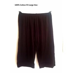 מכנס יוגה & שרוואל לנשים 100% כותנה מנדפת זיעה  גזרת 3/4 תואם למידות גדולוות  +XL-XXL