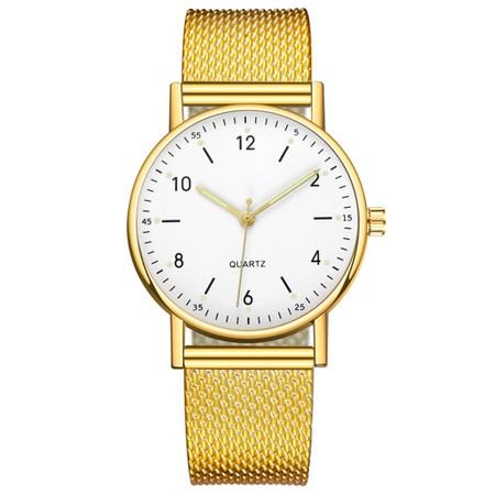 שעון לנשים במראה קלאסי - מנגנון קוורץ יפני