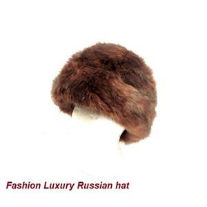 כובע תרמי פרוותי לחורף - כובע רוסי אופנתי לאישה Fashion Russian Hat