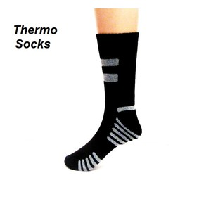 4 זוגות גרביים תרמיים משובחות לגבר ל- מבודד מקור ומנדף זיעה מתאים לפעילות ספורט בחורף