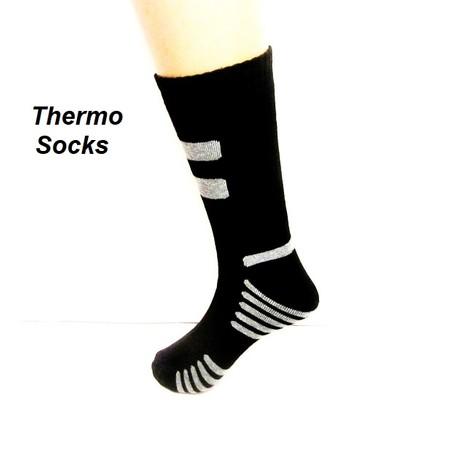 4 זוגות גרביים טרמיים / תרמיים לגבר  מעולה לפעילות ספורט תואם מידות 40-46
