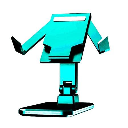 מעמד שולחני יציב לטאבלט וסמארטפון  ניתן להגדלה הק