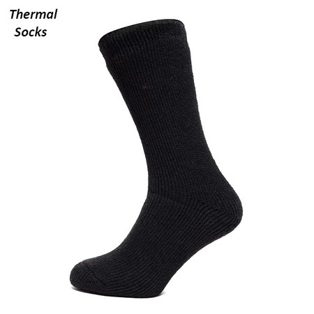 4 זוגות גרביים תרמיים לגבר לבידוד מקור ומנדף זיעה תואם לגברים