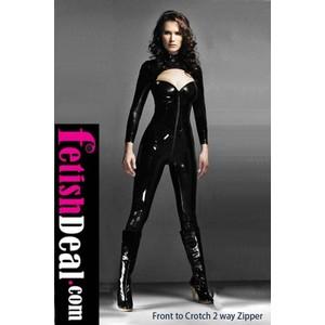 חליפה קינקית שחורה