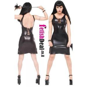 שמלה קצרה פרובקטיבית 2 חלקים