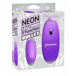 Neon Luv Touch ביצת רטט עוצמתית 5 מצבי רטט Pipedream