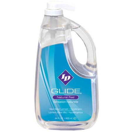 Glide חומר סיכה על בסיס מים עם משאבה 1.8 ליטר ID
