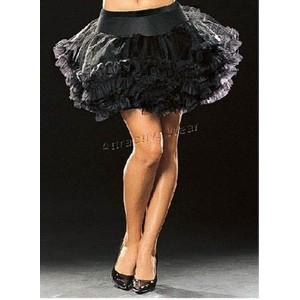 חצאית קצפת שחורה ומדליקה