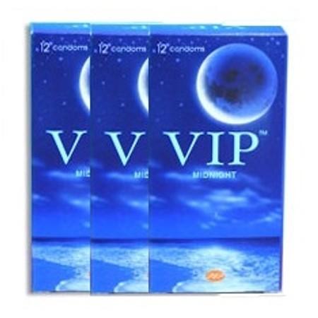 36 קונדומים פשוטים - מומלץ להלבשה על צעצועים VIP Midnight