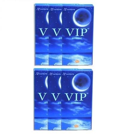 72 קונדומים פשוטים - מומלץ להלבשה על צעצועים VIP Midnight