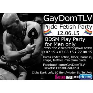Parade GayDom- SLAVE 12.06.15