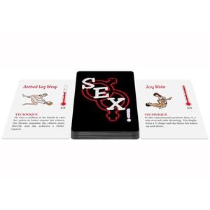 קלפים של תנוחות סקס בהשראת הקאמה סוטרה