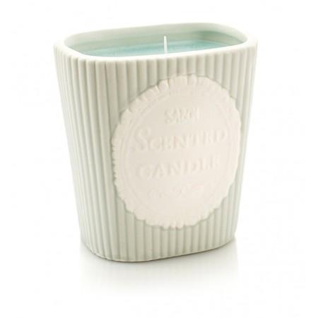Scented Candle נר רומנטי בנינוח מים מסתוריים Sabon