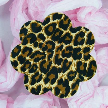 Mottled flower nipple cover