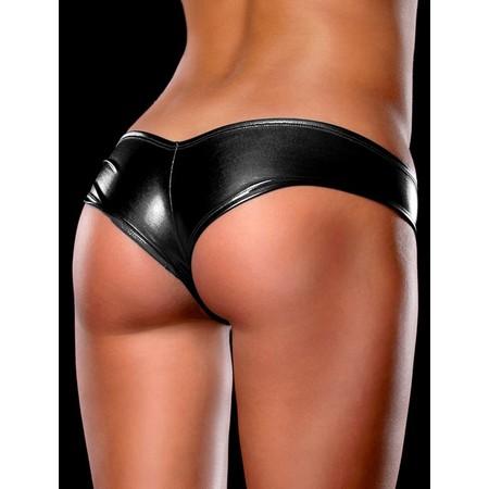 תחתונים סקסיים בצבע שחור מטאלי