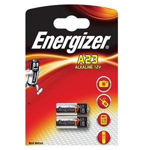 2 סוללות A23 של חברת Energizer