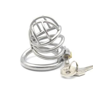Locked in Cell L חגורת צניעות לגבר ממתכת