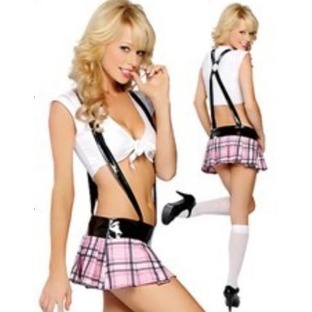 תלבושת תלמידה סקסית XS