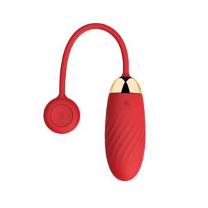ELLA ביצת רטט בולט אדומה המופעלת באמצעות אפלקציה Svakom