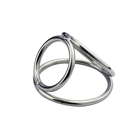 Small cock ring Three rings connected in a casting
