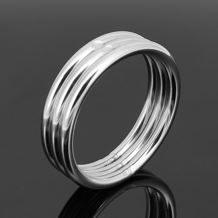Metal cockring  5 cm in diameter