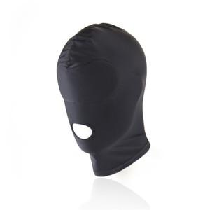 מסיכת ספנדקס שחורה מרופדת בעיניים להחשכה מוחלטת