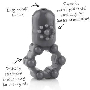 טבעת רטט עם מנוע אנכי חזק של Screaming-O
