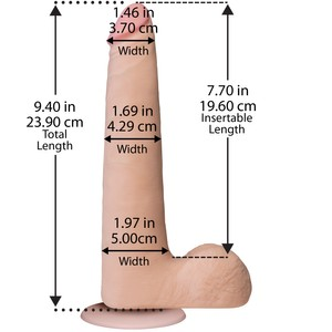 The Realistic® Cock - ULTRASKYN™ Slim - 21 cm