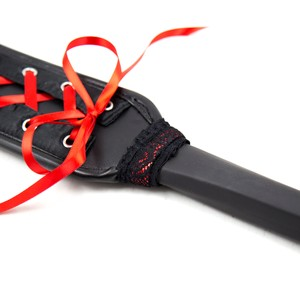 ספאנקר מחוך שחור אדום