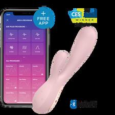 סטיספייר מונו פלקס - ויברטור כפול מופעל אפליקציה Satisfyer Mono Flex