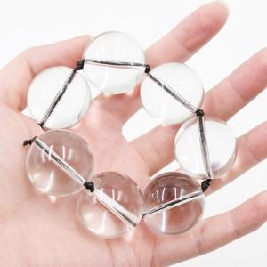 שרשרת חרוזים אנאליים מזכוכית