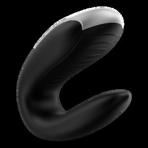 Double Fun - ויברטור לשימוש זוגי מופעל באמצעות אפליקציה או שלט