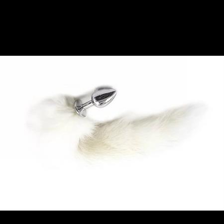 """באט פלאג עם זנב לבן 2.5 ס""""מ"""