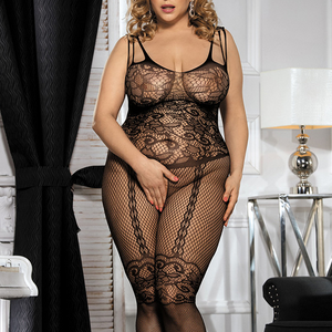 בגד גוף שחור סקסי XL