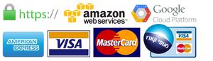 רכישה מאובטחת באמצעות כרטיסי אשראי ו PayPal